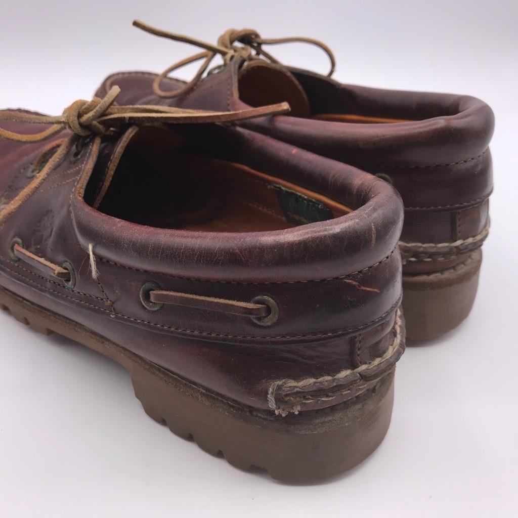 Vintage Timberland Braunes Leder Gore Tex Deckschuhe Herren Größe 10