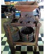 ANTIQUE 1872 JUNIOR CAST IRON APPLE CIDER PRESS - $1,500.00