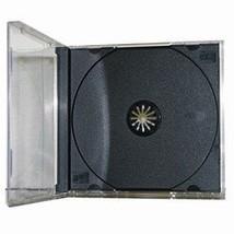 25 Standard CD Jewel Case - Assembled - Black - $19.18