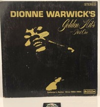 Dionne Warwick's Golden Hits Part One LP Record Album Sceptor Records SR... - $8.32