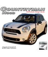 Countryman Hood Clubman 3M Pro Dual Stripes Decals Graphics fits Mini Co... - $98.99