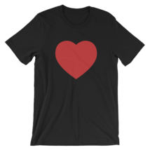 Red Heart Short Sleeve Unisex T-Shirt - $24.49+