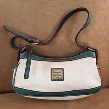 Dooney & Bourke pebbled leather square Logo purse handbag and mini tote - $34.00