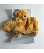 Best Made Toys Brown Teddy Bear Lovey Rattle Baby Plush Target Security ... - $38.61