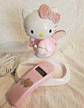 Hello Kitty Home Telephone With Caller ID,Lights up.. image 2
