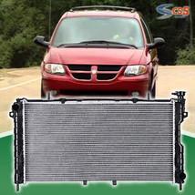 New Aluminum Radiator Dodge Grand Caravan Chrysler Town&Country 3.3L 3.8L 01 04 - $63.12