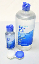 Baush + Lomb ReNu 16 Fl Oz and Travel 2 Fl Oz Multi Purpose Solution w/ ... - $14.84