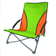 Stansport Low Profile Fold Up Chair Lime and Orange - $36.18
