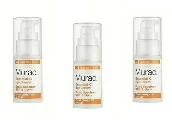 Primary image for Murad Environmental Shield Essential-C Eye Cream SPF 15 PA++ 0.5 oz (3 pack )
