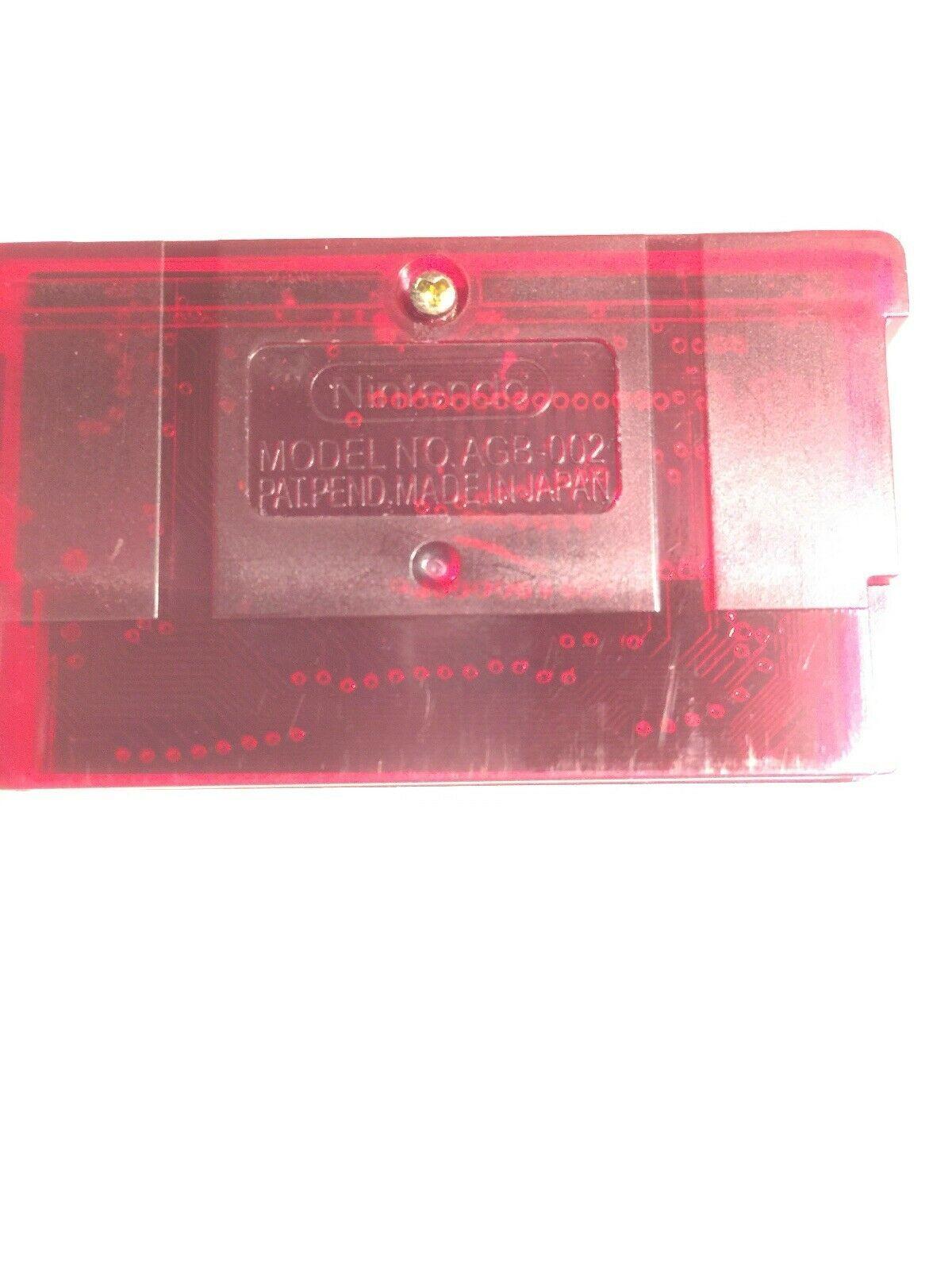 Pokemon Ruby Version Game Boy Advance Cartridge Only image 2