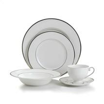 Mikasa Cameo Platinum 5 Piece Dish Round Dinnerware Set - $74.25