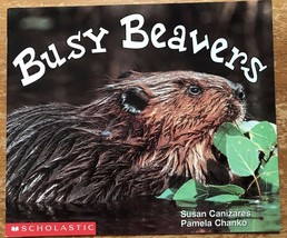 Busy Beaver Paperback Book Science Vocabulary Readers Scholastic Animal Unit - $5.89