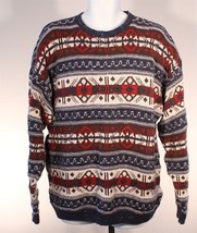 Ralph Lauren Polo Chaps Ugly Christmas Sweater Size Large Made in USA Vi... - $16.82