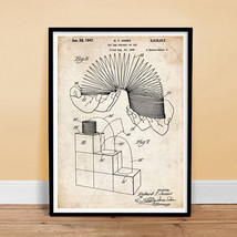 SLINKY TOY 1947 Patent Print 18x24 Poster Vintage Repro New GIFT (unframed) - $19.75