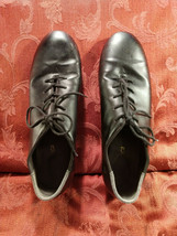 So Danca Tap Shoes Youth Boys Black Leather Lace Up SIZE 9½, 9.5 - $28.00