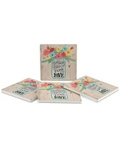 Thirstystone Home Filled with LoveCoasters Set of 4 - $9.99