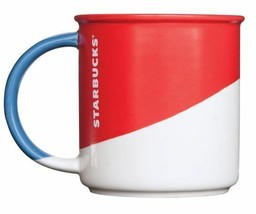 Starbucks Red Angle Dipped Mug (12 oz) Holiday 2017 New Fast Ship - $29.99