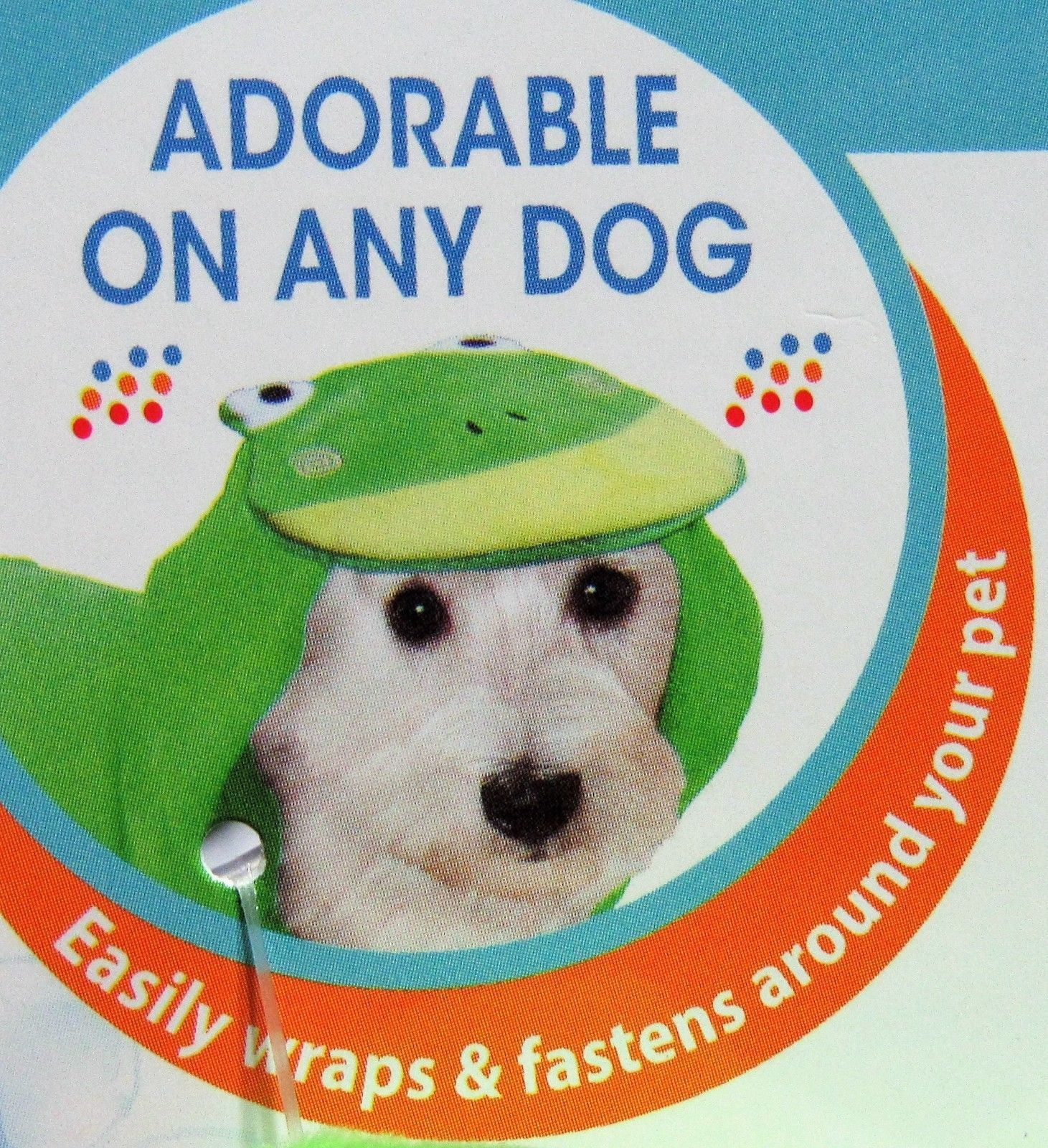 Four Paws Magic Coat Hooded Frog Towel for Dogs, Small/Medium NEW