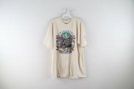 Vintage Streetwear Mens XL 2000 Celebrate Earth Day Distressed Animal T-... - $39.55