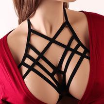 Womens Strappy Harness Sexy Body Cage Bra Sexy Bra Women Sexy Bra Hollow... - $10.90