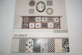 K & Company NATIVE FLORAL 12x12 Designer Paper Pad 24 Sheets - $9.36
