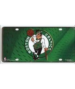 BOSTON CELTICS GREEN NBA BASKETBALL LOGO METAL LICENSE PLATE - $27.07