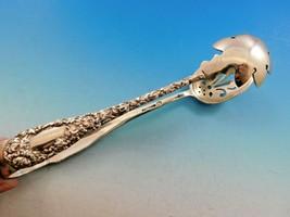 "Chrysanthemum by Durgin Sterling Silver Ice tong Pierced 7 1/8"" Vintage Flatware - $1,295.00"