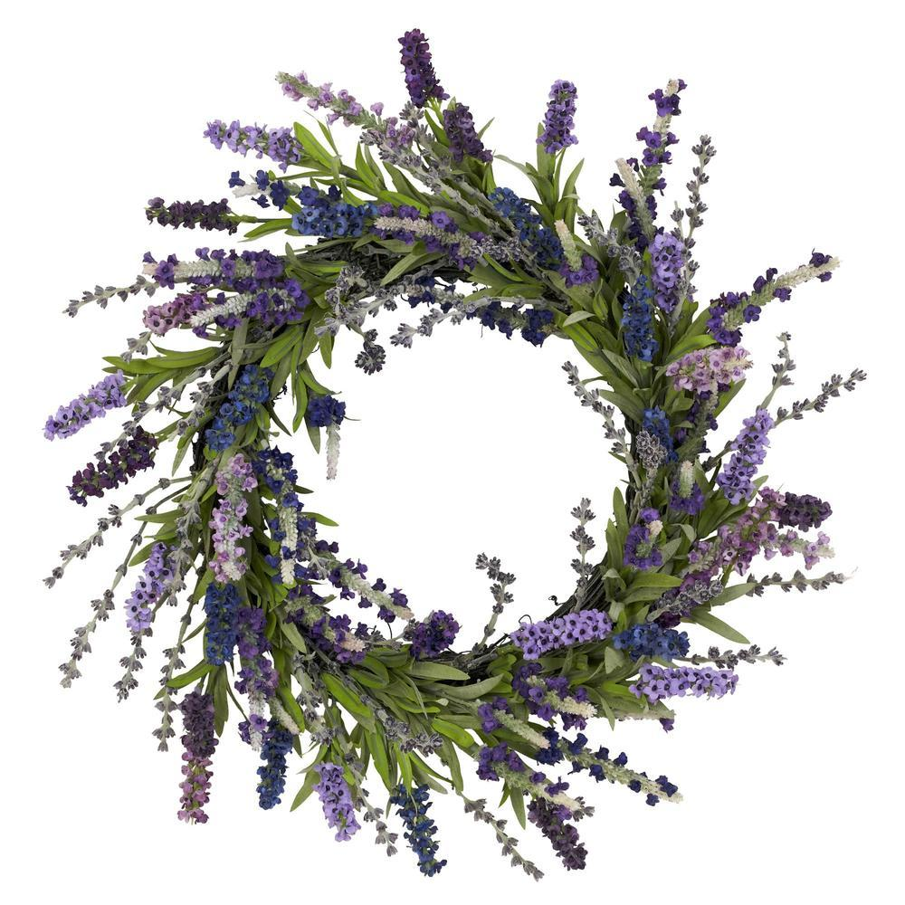 "Primary image for 20"" Lavender Wreath"