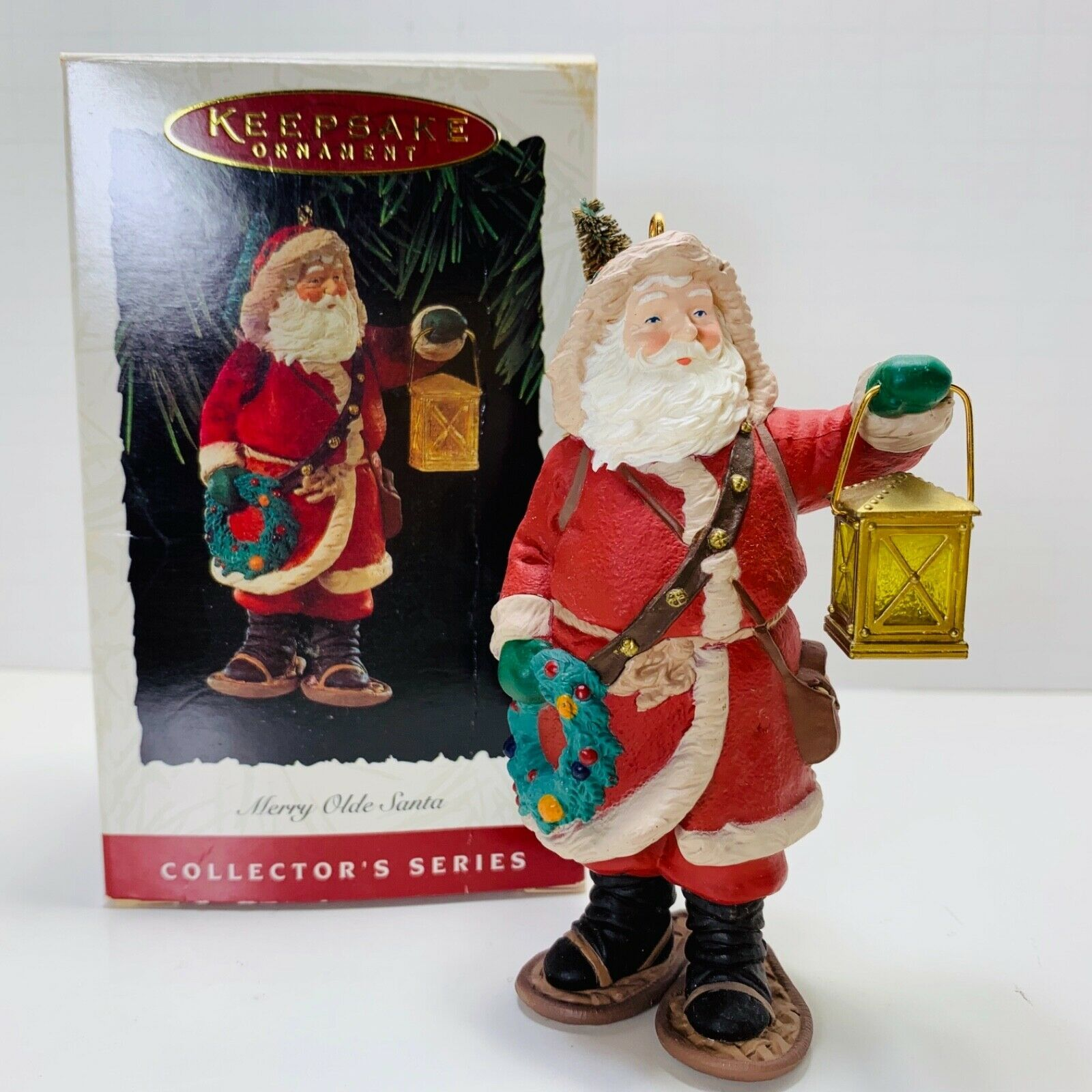 Primary image for Hallmark Keepsake Ornament Merry Olde Santa 1994