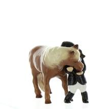 Hagen Renaker Specialty  Horse Girl and Her Pony Ceramic Figurine image 10