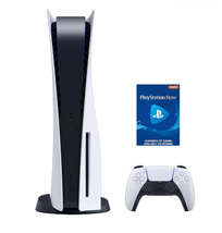 Newest PS5 Bundle - Includes PlayStation DISC Console and PSN 3 Month image 1