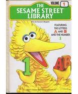 ORIGINAL Vintage 1978 Sesame Street Library Book #1 Big Bird Cover - $13.99