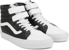 ea1d7978250d NEW IN BOX Vans SK8 Hi Reissue Classic Tumble True White   Black sz 11 -