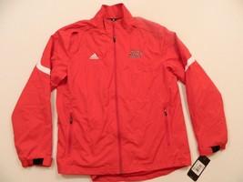 M53 New Adidas Nicholls State Colonels Full Zip Black Track Jacket  Men's L - $59.35