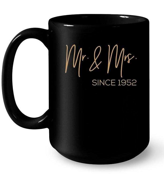 66th Wedding Anniversary 1952 Gift Ideas Couples Gift Coffee Mug