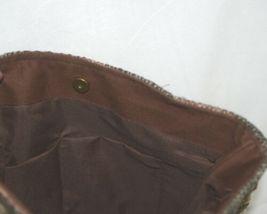 Unbranded 82325A Large Saddle Blanket Pattern Purse Leather Tassels image 4