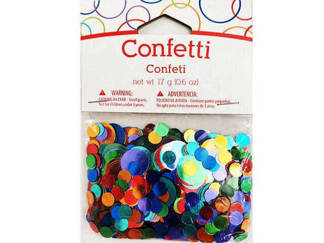 Creative Converting Colorful Confetti #WM023486