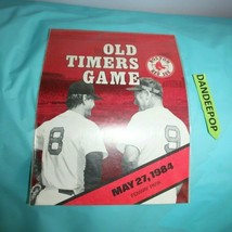 Old Timers Game Boston Red Sox Program Fenway Park May 27, 1984 Baseball Sports  - $29.69