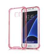 Samsung Galaxy S7 Edge Full Body Hybrid TPU Transparent Case Cover - $12.99