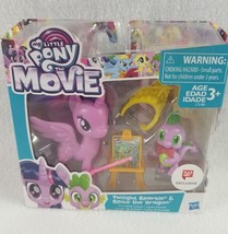 My Little Pony The Movie Twilight Sparkle & Spike The Dragon Figures Toy... - ₹439.77 INR