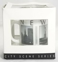 Starbucks Coffee 2005 Barista Mini Mugs City Scenes Series New York Cup Espresso - $21.95