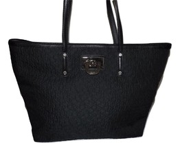 NEW DKNY WOMEN'S QUILTED URBAN FUSION TOTE BAG BLACK - $98.95