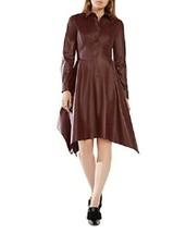 BCBG Beatryce Faux Leather Dress, Size XXS, NWT - $117.81