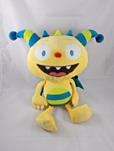 "Disney Henry Hugglemonster Plush 15"" Yellow Blue Stuffed Animal - $9.13"