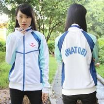 Anime Free! Iwatobi Swim Club Haruka Nanase Cosplay Costume Jacket Unisex Hoodie - $57.94