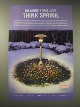 2001 Coleman Patio Heater Ad - Do more than just think spring - $14.99