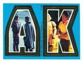 Star Wars Empire Strikes Back card #46 Topps Sticker 1980 AK Harrison Fo... - $5.00