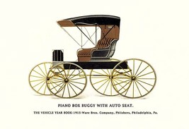 Piano Box Buggy with Auto Seat - Art Print - $19.99+