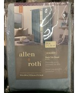 "Allen+Roth Curtain Panel Burgett Back Tab Mineral 54x84"" One Panel #0792495 - $20.00"