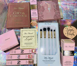 Huge Lot New In Box Too Faced Born This Way Sugar Peach Cocoa Contour Diamond image 8